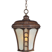 Lake Shore VX Energy Efficient 1 Light 11 inch Antique Pecan Outdoor Hanging Lantern