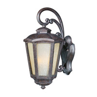 Maxim Lighting Pacific Heights VX Vivex Energy Efficient 1 Light Outdoor Wall Mount in Mottled Leather 85493TLML