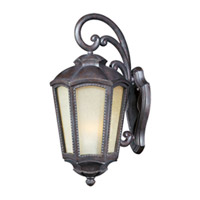 Maxim Lighting Pacific Heights VX Vivex Energy Efficient 1 Light Outdoor Wall Mount in Mottled Leather 85494TLML