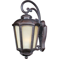 Pacific Heights VX Energy Efficient 1 Light 28 inch Mottled Leather Outdoor Wall Mount