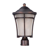 Maxim 85500LACO Balboa DC Energy Efficient 1 Light 17 inch Copper Oxide Outdoor Post