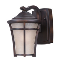 Balboa DC Energy Efficient 1 Light 10 inch Copper Oxide Outdoor Wall Mount