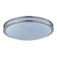 Maxim Lighting Linear 3 Light Flush Mount in Satin Nickel 85546WTSN