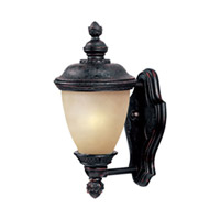Maxim Lighting Carriage House Energy Efficient 1 Light Outdoor Wall Mount in Oriental Bronze 85595MOOB