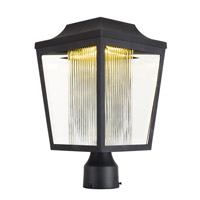 Villa LED 16 inch Anthracite Post Lantern