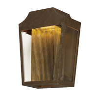 Villa LED 9 inch Adobe Outdoor Hanging Lantern