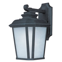 Maxim Lighting Radcliffe Energy Efficient 1 Light Outdoor Wall Mount in Black Oxide 85643WFBO