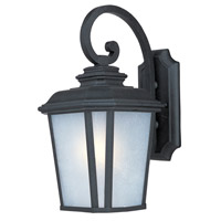 Maxim 85644WFBO Radcliffe Energy Efficient 1 Light 17 inch Black Oxide Outdoor Wall Mount