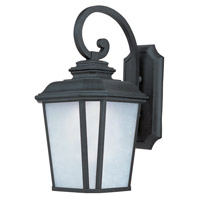 Maxim Lighting Radcliffe Energy Efficient 1 Light Outdoor Wall Mount in Black Oxide 85646WFBO