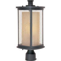 Maxim 85650CDWSBZ Bungalow Energy Efficient 1 Light 18 inch Bronze Outdoor Pole/Post Mount