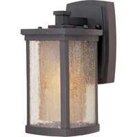 Maxim Lighting Bungalow Energy Efficient 1 Light Outdoor Wall Mount in Bronze 85652CDWSBZ