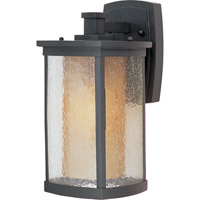 Maxim 85653CDWSBZ Bungalow Energy Efficient 1 Light 14 inch Bronze Outdoor Wall Mount