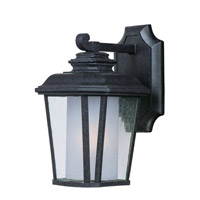Maxim 85662CDFTBO Radcliffe EE 1 Light 11 inch Black Oxide Outdoor Wall Mount