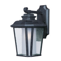 Maxim 85663CDFTBO Radcliffe EE 1 Light 15 inch Black Oxide Outdoor Wall Mount