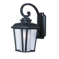 Maxim Lighting Radcliffe EE 1 Light Outdoor Wall Mount in Black Oxide 85666CDFTBO