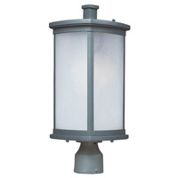 Maxim Lighting Terrace Energy Efficient 1 Light Outdoor Post in Platinum 85750FSPL