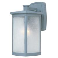 Maxim 85753FSPL Terrace Energy Efficient 1 Light 14 inch Platinum Outdoor Wall Mount