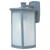 Maxim Lighting Terrace Energy Efficient 1 Light Outdoor Wall Mount in Platinum 85754FSPL