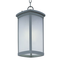 Maxim Terrace EE Outdoor Hanging Lantern in Platinum 85759FSPL
