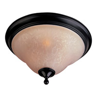Maxim Lighting Linda EE 2 Light Flush Mount in Oil Rubbed Bronze 85800WSOI