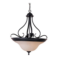 Maxim Lighting Linda Energy Efficient 4 Light Pendant in Oil Rubbed Bronze 85803WSOI
