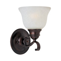 Maxim Lighting Linda Energy Efficient 1 Light Wall Sconce in Oil Rubbed Bronze 85807ICOI