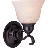 Maxim Lighting Linda Energy Efficient 1 Light Wall Sconce in Oil Rubbed Bronze 85807WSOI
