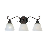 Maxim Lighting Linda Energy Efficient 3 Light Bath Vanity in Oil Rubbed Bronze 85809ICOI