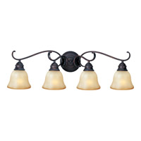 Maxim Lighting Linda Energy Efficient 4 Light Bath Light in Oil Rubbed Bronze 85810WSOI