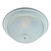 Maxim 85831FTTW Flush Mount Energy Efficient 2 Light 14 inch Textured White Flush Mount Ceiling Light