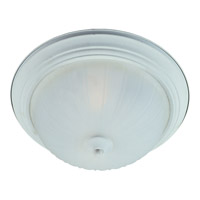 Maxim Lighting Flush Mount Energy Efficient 3 Light Flush Mount in Textured White 85832FTTW