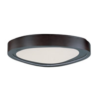 Maxim Lighting Nebula LED Flush Mount in Bronze 85853WTBZ