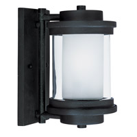 Maxim 85862CLFTAR Lighthouse EE 1 Light 10 inch Anthracite Outdoor Wall Mount