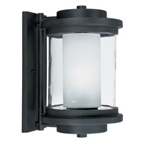 Maxim 85866CLFTAR Lighthouse EE 1 Light 16 inch Anthracite Outdoor Wall Mount