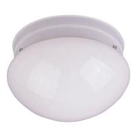 Maxim 85881WTWT Utility Energy Efficient 2 Light 9 inch White Flush Mount Ceiling Light