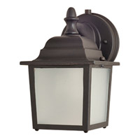 Maxim Lighting Side Door Energy Efficient 1 Light Outdoor Wall Mount in Empire Bronze 85924EB