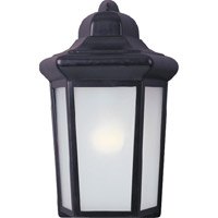 Maxim Lighting Side Door EE 1 Light Outdoor Wall Mount in Black 85928BK