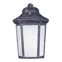Maxim Lighting Side Door Energy Efficient 1 Light Outdoor Wall Mount in Rust Patina 85928RP