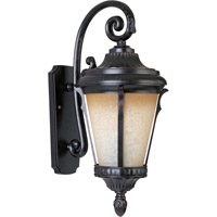 Maxim 86015LTES Odessa Energy Efficient 1 Light 27 inch Espresso Outdoor Wall Mount