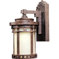 Maxim 86031MOSE Santa Barbara Energy Efficient 1 Light 10 inch Sienna Outdoor Wall Mount