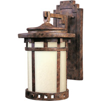 Santa Barbara Energy Efficient 1 Light 13 inch Sienna Outdoor Wall Mount