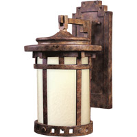 Maxim Lighting Santa Barbara Energy Efficient 1 Light Outdoor Wall Mount in Sienna 86034MOSE