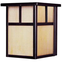 Maxim 86050HOBU Coldwater Energy Efficient 1 Light 8 inch Burnished Outdoor Wall Mount
