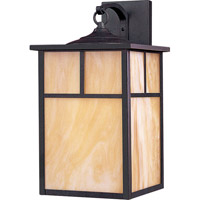 Maxim 86054HOBU Coldwater Energy Efficient 1 Light 16 inch Burnished Outdoor Wall Mount