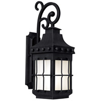 Nantucket Energy Efficient 1 Light 23 inch Country Forge Outdoor Wall Mount