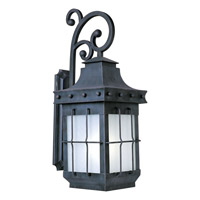 Maxim Lighting Nantucket Energy Efficient 1 LightOutdoor Wall Mount in Country Forge 86085FSCF