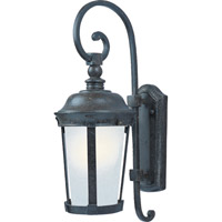 Maxim Lighting Dover Energy Efficient 1 Light Outdoor Wall Mount in Bronze 86093FSBZ