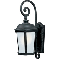 Maxim Lighting Dover Energy Efficient 1 Light Outdoor Wall Mount in Bronze 86094FSBZ