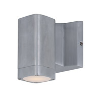 Maxim 86108AL Lightray LED 4 inch Brushed Aluminum Wall Sconce Wall Light