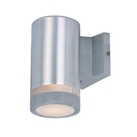 Maxim 86110AL Lightray LED 4 inch Brushed Aluminum Wall Sconce Wall Light
